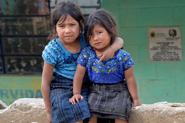mayan girls latin america