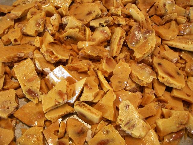 nut brittle food recipe sweet