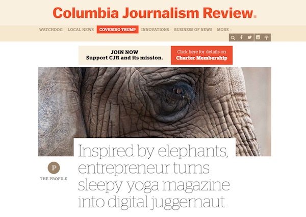 Press: elephantjournal com, & Walk the Talk Show with Waylon