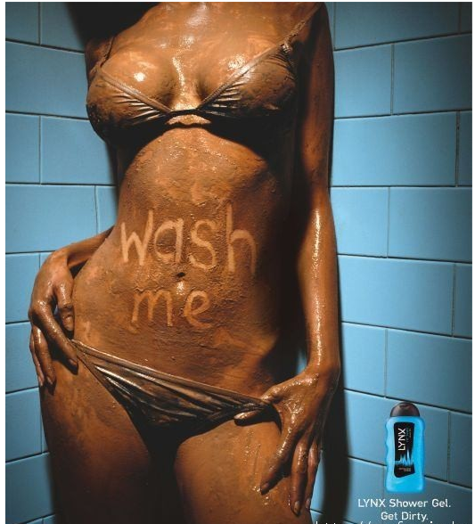 Advertisements wash axe body