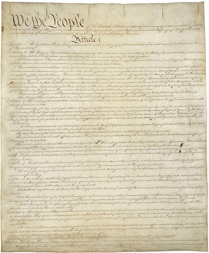 U.S. Constitution We the People
