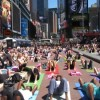 Yoga's Mass Appeal hits Times Squre. Y@GL. Wanderlust. ~ Dan Wilf