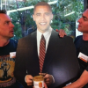 President Obama enjoys Justin's Nut Butter at Vermilion in Boulder, Colorado. (Seriously)