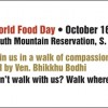 Hey, Buddhists - Will You Walk 10,000 Steps to Feed the Hungry?