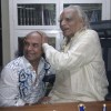 Caption This: BKS Iyengar Blesses Bikram Choudhury? (photo)