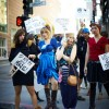 "Election Day Fashion Flash Mob: ""Voting Turns Me On!"""
