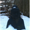 My beautiful, black Buddha. ~Tom Rapsas