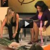 Jennifer Aniston Gives Oprah the Gift of Yoga.