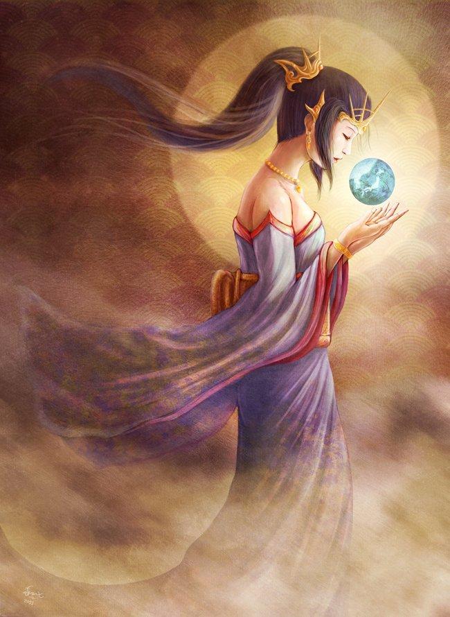 Amaterasu Omikami Equinoctal Regeneration In The Wake Of