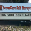 Only in Boulder: Storage Facility is...Feng Shui Compliant.