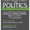New Era's Spring Dinner : Five Years of Homegrown Politics