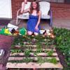 DIY Summer Project: Vertical Shipping Pallet Garden.