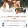Boulder events: Aykanna Concert October 1 & Sacred Relationship Workshop October 2.
