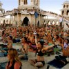 Burning Man Yoga