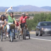 350, Biking from Boulder to Denver, & Moving Planet Colorado. (Video)