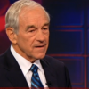 "Jon Stewart with Ron Paul: ""You are one of our last consistent politicians."""