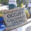Photo: Occupy Colorado Springs Represents!