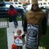 Winner! Worst Halloween Costume.