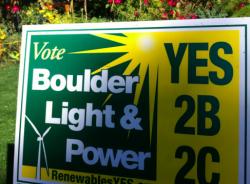 Boulder renewable energy