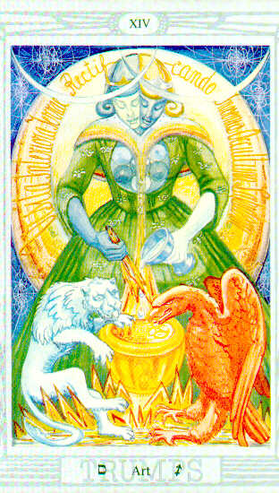 Alchemy Tarot Card Meaning: Transmutation: What Alchemy Can Do For You.