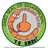 """""""FUGMO"""": The Anti-GMO Mascot."""