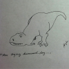 Dino Down Dog.