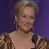 Meryl Streep's Academy Award acceptance speech at the Oscars: Class.