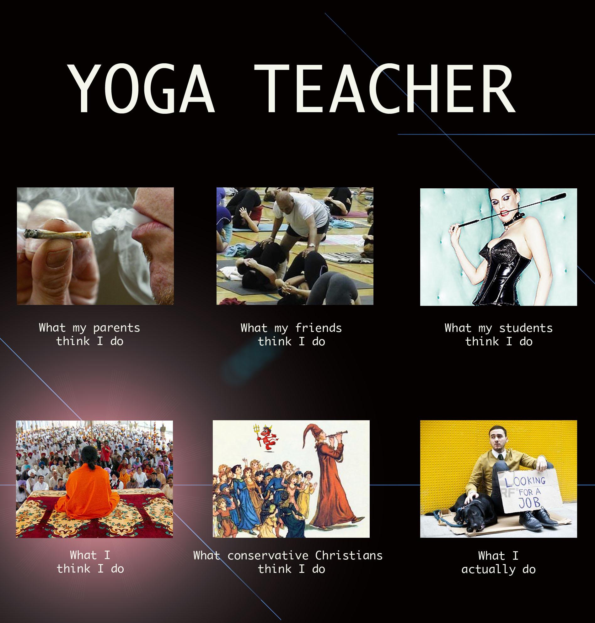 Yoga teacher dating