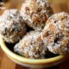 No-Bake Peanut Butter, Coconut, Date Power Bites.