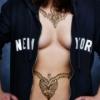 I F'kin Heart NY & All of Her Dirty Glory. {Nudity}