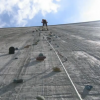 The Tallest Artificial Climbing Wall in the World.