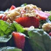 Bloomsdale Spinach & Strawberry Summer Salad. {elephant Tuesdays}