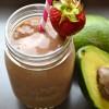 Strawberry, Avocado & Hemp Smoothie. {elephant Tuesdays}