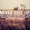 5 Quotes: Never Give Up on What You Really Want to Do.
