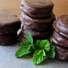 Vegan Peppermint Patties.