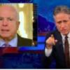"""Jon Stewart, on """"the worst President since Herbert Hoover."""""""