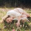 I Just Want to Lie in the Grass. ~ Caroline Scherer