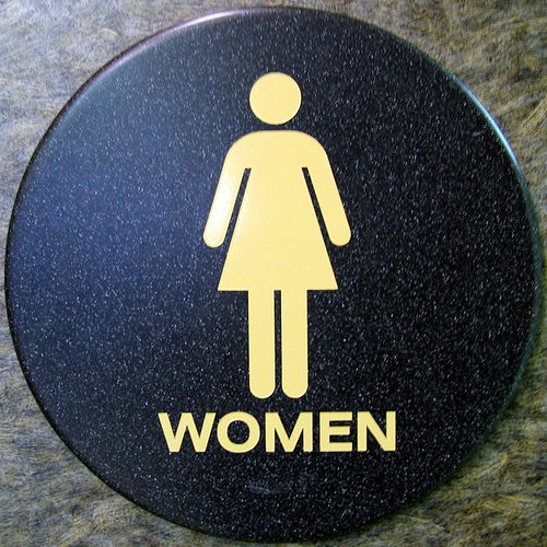 Womens Public Bathroom Toilet Video: There's A Boy In The Girls' Bathroom?!