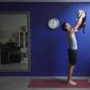 New Yoga Pose: Cuddlecatasana. {Video}