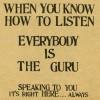 Ghost or Guru?