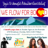 We Flow for BoCO: Yogis to Benefit Boulder Flood Relief.
