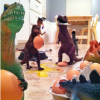 Little Known Fact: Dinosaurs Like to Party. {Must-see Photos}