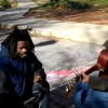Homeless Man Joins Video Shoot & Stirs the Heart to Sing. {Video}