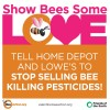 For the Love of Bees, Take Action Against Bee-Killing Pesticides.