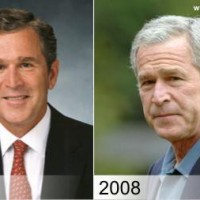 Presidents, Before & After. [Photos]