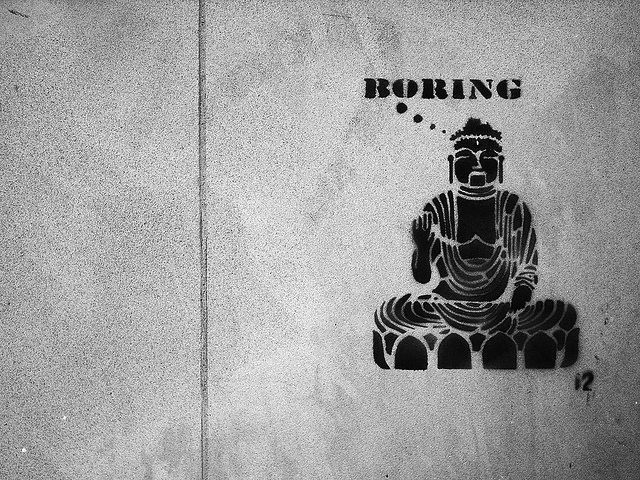 boring buddha