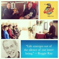 Waylon with Reggie Ray: Learning to be Human.
