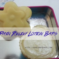 How to Make Natural Pain Relief Lotion Bars.