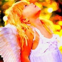 Wrapped in Your Angel Wings. ~ Brandie Smith {Poem}