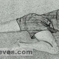 Visual Yoga Blog: The Rock Climber's Pose.